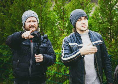 Bildregisseur Christian Verch und Regisseur Michael Kegel am Set © Michael Kegel